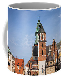 Wawel Cathedral In Krakow Coffee Mug
