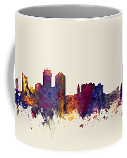 Wichita Kansas Skyline Coffee Mug