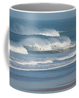 Windy Seas In Cornwall Coffee Mug