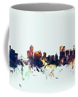 Winnipeg Canada Skyline Coffee Mug