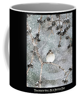 Winter Mockingbird Coffee Mug