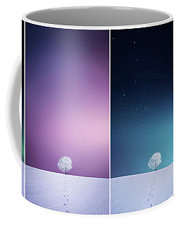 Winter Tree Coffee Mug by Bess Hamiti
