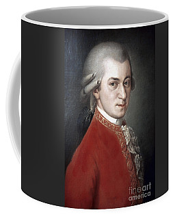 Coffee Mug featuring the photograph Wolfgang Amadeus Mozart by Granger