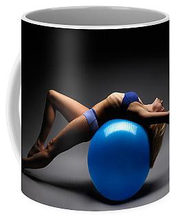 Woman On A Ball Coffee Mug