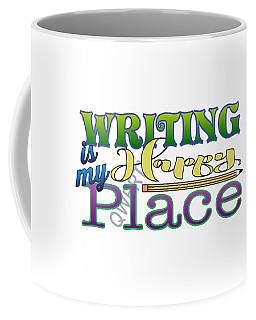 Writing Is My Happy Place Coffee Mug