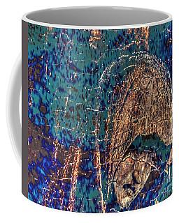 Coffee Mug featuring the pyrography Yury Bashkin by Yury Bashkin