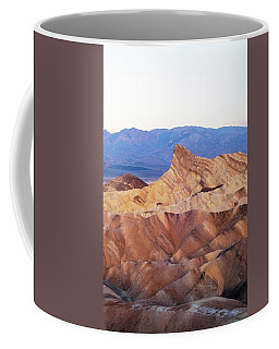 Coffee Mug featuring the photograph Zabriskie Point by Catherine Lau