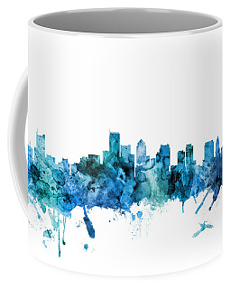 Boston Massachusetts Skyline Coffee Mug