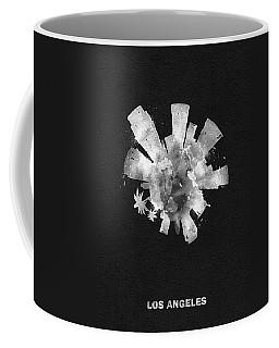 White Skyround Art Of Los Angeles, United States Coffee Mug