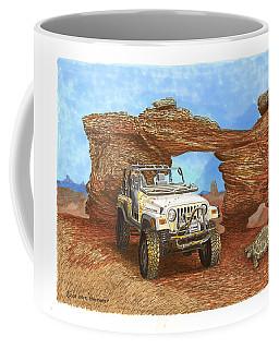 2005 Jeep Rubicon 4 Wheeler Coffee Mug by Jack Pumphrey