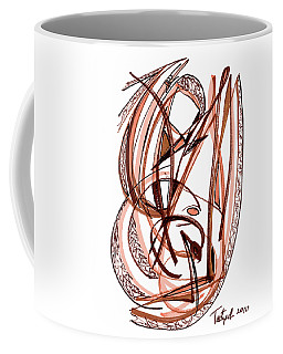 2010 Abstract Drawing Five Coffee Mug by Lynne Taetzsch