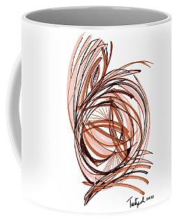 2010 Abstract Drawing Six Coffee Mug by Lynne Taetzsch
