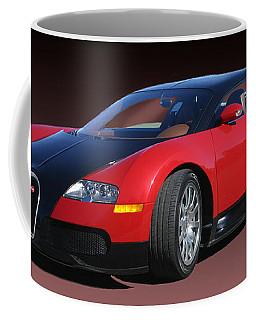 2010 Bugatti Veyron E. B. Sixteen Coffee Mug