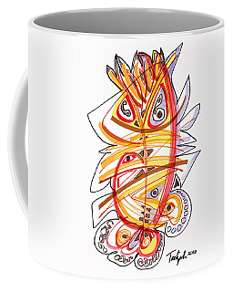 2010 Drawing Three Coffee Mug