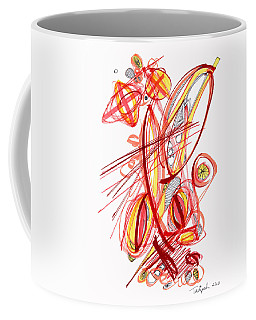 2010 Drawing Two Coffee Mug