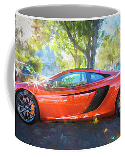 2014 Mclaren Mp4 12c Spider C196 Coffee Mug by Rich Franco