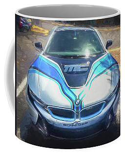 2015 Bmw I8 Hybrid Sports Car Coffee Mug by Rich Franco