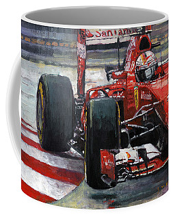2015 Hungary Gp Ferrari Sf15t Vettel Winner Coffee Mug