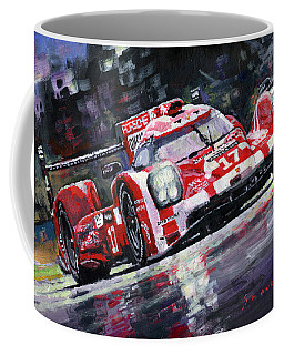 2015 Le Mans 24h Porsche 919 Hybrid Coffee Mug