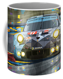 2015 Le Mans Gte-am Porsche 911 Rsr Coffee Mug