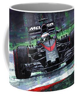 2015 Mclaren Honda F1 Austrian Gp Alonso  Coffee Mug