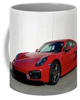 2015 Porsche Cayman Gts Coffee Mug