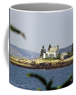 2015 Winter Harbor Light Coffee Mug