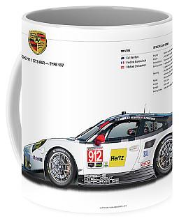 2016 911gt3r Rsr Poster Coffee Mug