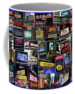 Coffee Mug featuring the photograph 2016 Broadway Spring Collage by Steven Spak