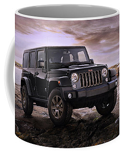 2016 Jeep Wrangler 75th Anniversary Model Coffee Mug