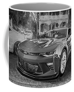 2017 Chevrolet Camaro Ss2 Bw Coffee Mug by Rich Franco