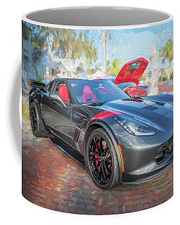 2017 Chevrolet Corvette Gran Sport  Coffee Mug by Rich Franco