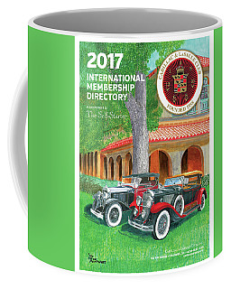 Coffee Mug featuring the painting 2017 International Cover Award by Jack Pumphrey