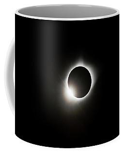 2017 Solar Eclipse Corona Ring Coffee Mug