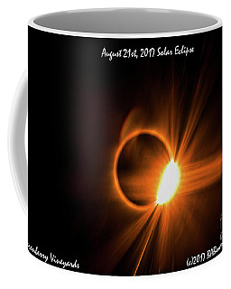 2017 Solar Eclipse - Diamond Ring Coffee Mug