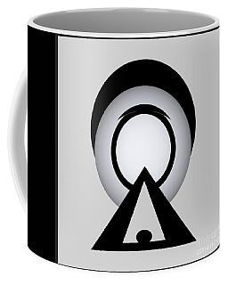 Coffee Mug featuring the digital art 2018-2017 by John Krakora