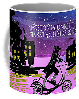 2018 Boston Marathon Midnight Ride Coffee Mug