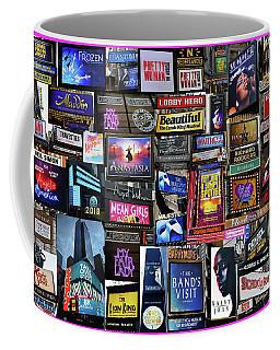 2018 Broadway Spring Collage Coffee Mug