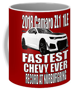 2018 Camaro Zl1 1le Coffee Mug