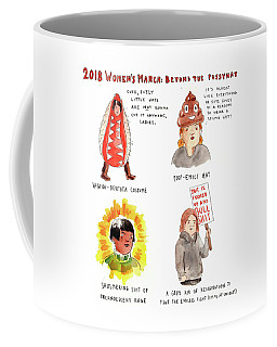 2018 Womens March Coffee Mug