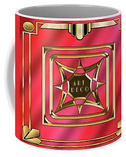 Coffee Mug featuring the digital art 2020 Deco 2 by Chuck Staley