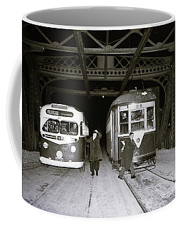 207th Street Crosstown Trolley Coffee Mug