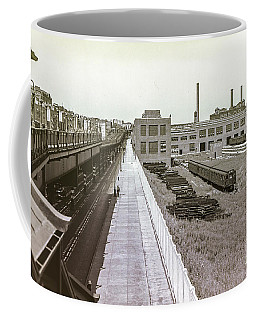 207th Street Subway Yards Coffee Mug