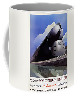 20th Century Limited Coffee Mug