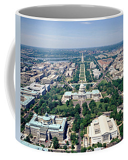 Aerial View Of Buildings In A City Coffee Mug