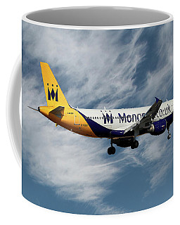 Monarch Airlines Airbus A320-214 Coffee Mug