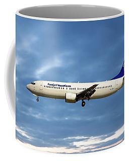 Funjet Vacations Boeing 737-400 Coffee Mug