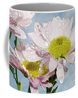 Coffee Mug featuring the photograph Pink Flowers by Elvira Ladocki