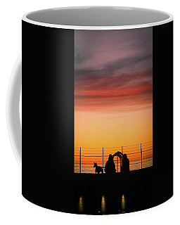 Coffee Mug featuring the photograph 22nd St Sunset by Michael Hope