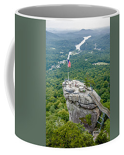 Lake Lure And Chimney Rock Landscapes Coffee Mug